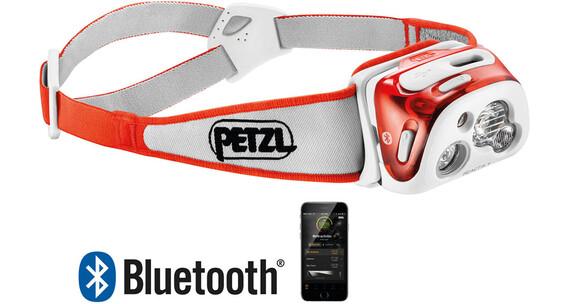 Petzl Reactik+ Headlamp Coral